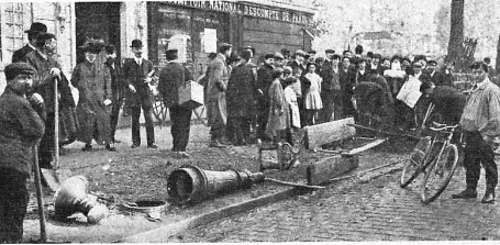 Manifestacion Pro Ferrer_París 13-10-1909_disturbios1