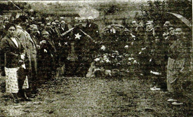 Montjuic_Homenaje Fco Ferrer Guardia_octubre 1936_Trinidad -X-