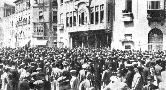 Mitin 29-03 pro-amnistía Monumental Alicante_ La Calle 10 Abril 1931.jpg
