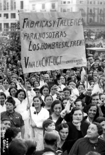 00_revolucion y sanidad Manifestación de adhesión al pueblo madrileño_Valencia 01-11-1936