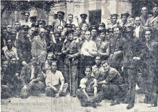 Amalgama revolucionarios levantinos_El Pueblo Valencia 26-07-1936
