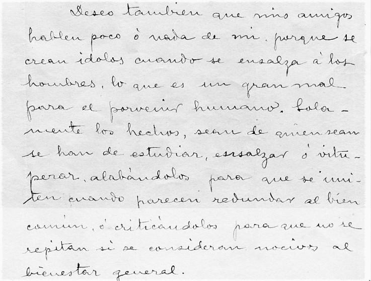 Extracto Testamento FG_Montjuich 13 de octubre de 1909