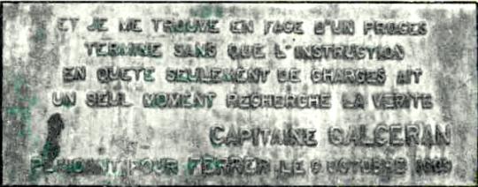 Monumento Ferrer en Bruselas_inscripcx capitán Garcelán-abogado defensor