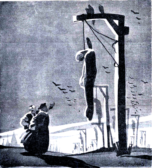 españa negra_el fascista le dice al cura.. bardasano 1934