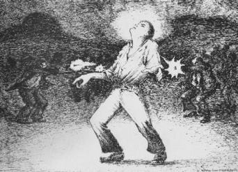 España negra_Ley de fugas_Obrero asesinado