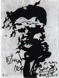retrato de dali a lorca 1924