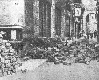 barricada barcelona