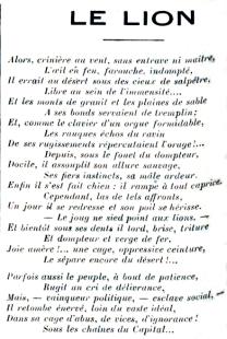 Dejacque_Le Lion_Lazareennes_1857