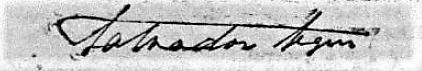 firma Salvador Seguí