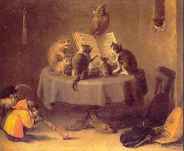 gatos ilustrados