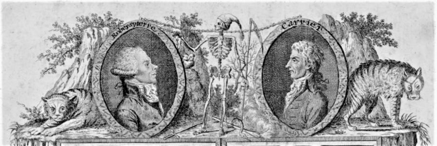grabado_los tigres humanos_seccion Escenas abominables Jacobinas_1795