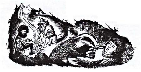Ilustración_El principe Caspio_Alfaguara 1990