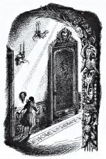 Ilustración_El Viaje del amanecer_Alfaguara 1990