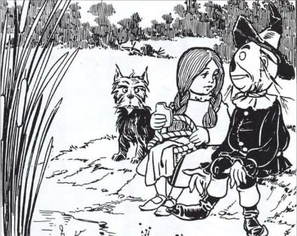 Ilustraciones_El Mago de Oz_Fuente Dorada 1979-Wallace Denslow