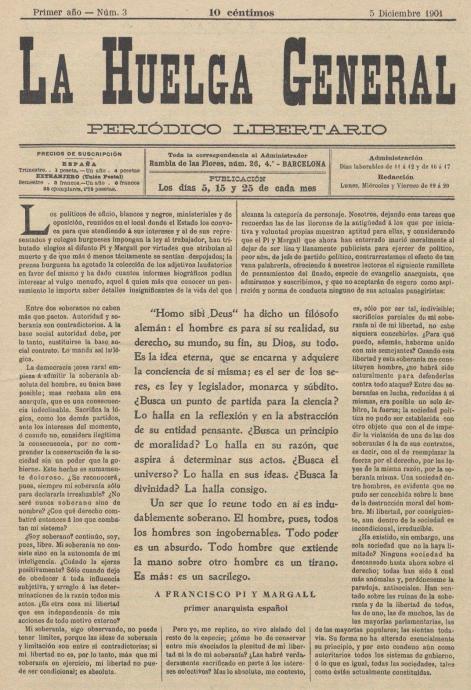 Portada La Huelga General_1901