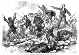 3_Ultimos de barricada calle st Martin_Comuna_La Ilustracx España y America 25-06-1871