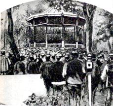 Manifestacion Mayo de 1890_Parque del Buen Retiro-Madrid