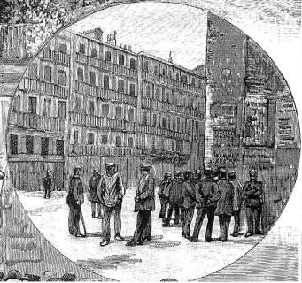 grabado_bando anarquista 1890_Madrid_La Ilustracx Española y Americana 08-05-1890