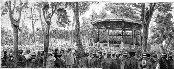 grabado_mitin obrero_madrid_La Ilustracx Española y Americana 08-05-1890