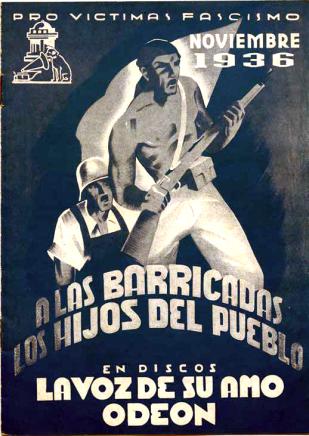 Himnos Revolucionarios_Discos La voz de su amo - Odeón 1936_Col·lecció Ibán Ramón