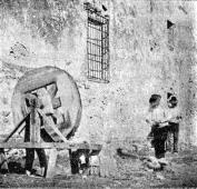 trabajos callejeros Alcoy 1900