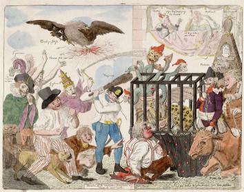 Caricatura-Monstre de la révolution française ou rêve de mon oncle (2)