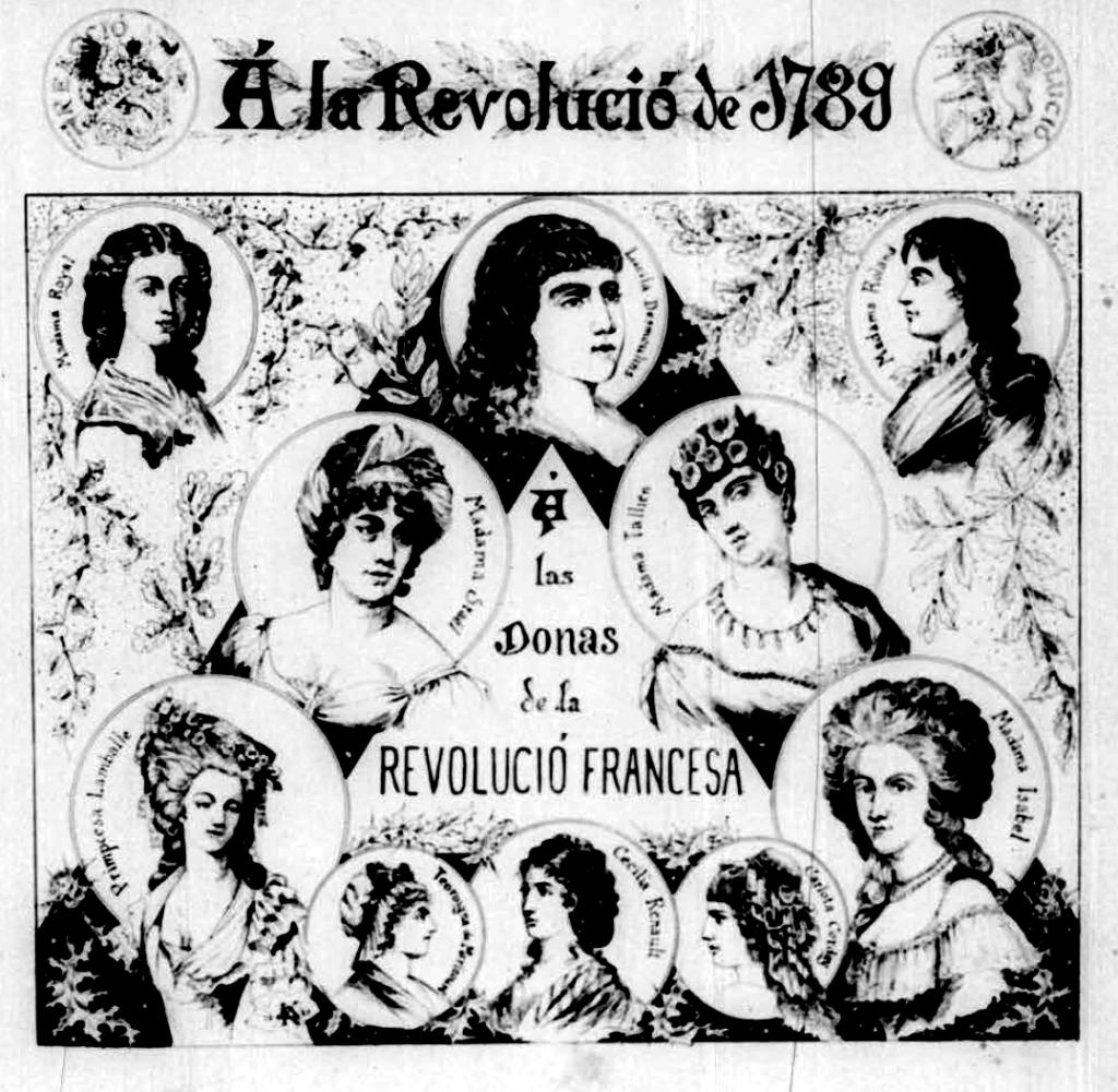 Dones Revolució Francesa_La Tramontana 14-07-1889