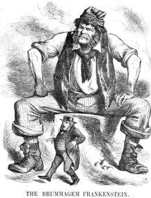 Frankenstein politico_Brummagen Frankenstein 1866_John Tenniel