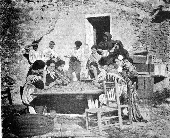 grupo Obreras Jijona 1900