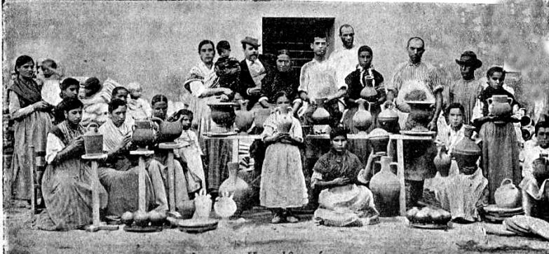 grupo obreras_alfareria Agost_1900