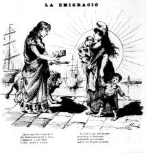Mare Revolució_España i la emigració_La Tramontana 13-09-1889