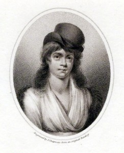 Mary Wollstonecraft, stipple engraving by John Chapman_possibly after an anonymous painting 1798_National Portrait Gallery