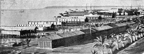 vista baños postiguet_Alicante 1900