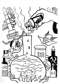 Artificio revolucionario_Ilustraciones_Frankenstein L'Age d'Or ou le Fin du monde_Jean Nocher_París 1935