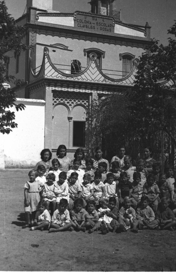 Colonias escolares SIA-Claveles y Rosas_alrededores Valencia 1937-38