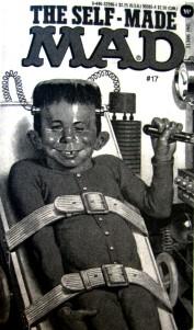El loco Frankenstein hecho a si mismo_Autodestrucción_Mad Magazine_década 1960