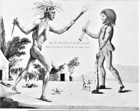 Frankenstein monstruo politico_caricatura_los abominables 1799_01