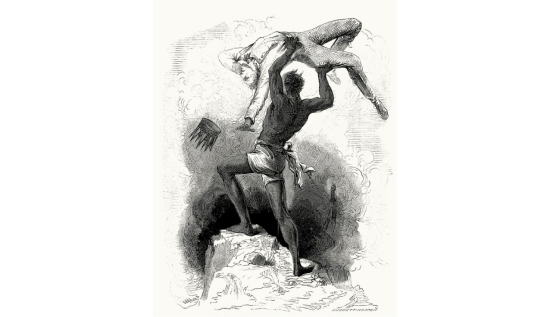 Frankenstein monstruo politico_caricatura_monstruo_New_Frankenstein_1862