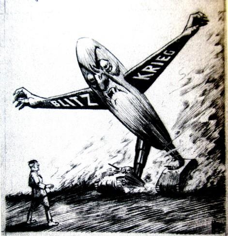Frankenstein monstruo politico_Nazism_1944_Edwin Marcus