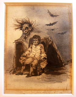 Frankenstein monstruo politico_Retrato de Fernando VII_Alenza