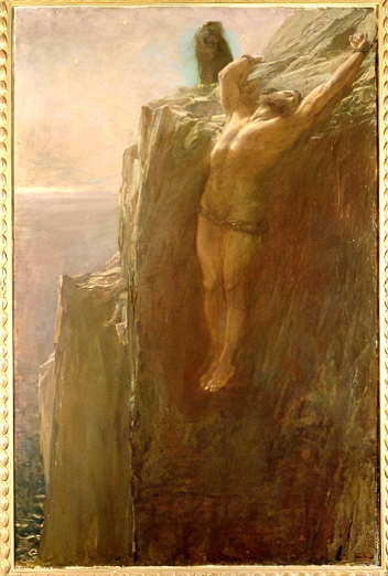 Briton_Riviere_-_Prometheus_Bound_1889