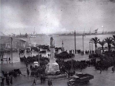 vista_Puerto de Alicante, 1 de abril de 1939