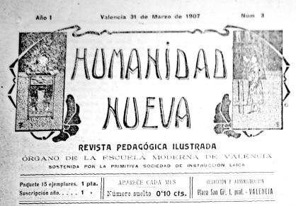 Cabecera Humanidad Nueva_1907