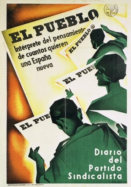 Cartel El Pueblo_diario sindicalista