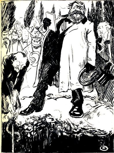 Discursos a pie de tumba-Grandjouan_L'Assiette au beurre 1905-05-06
