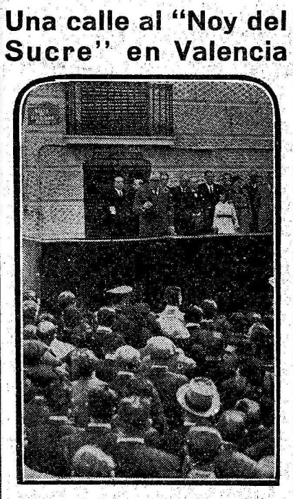 Inauguración calle Salvador Segui Valencia_El Liberal 23-04-1936