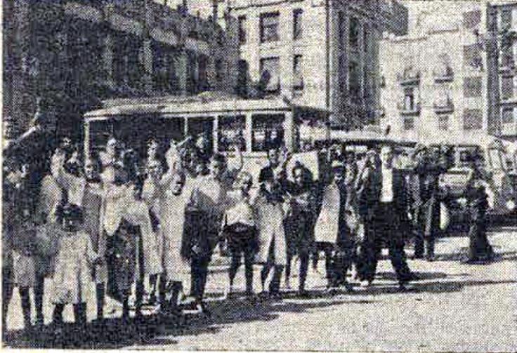 Llegada niñas Valencia_finales septiembre 1936_Fragua Social 01-10-1936