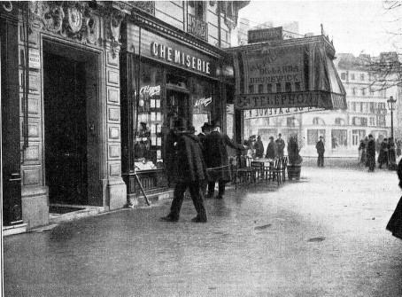 Atentado en Paris_avd Republica 31 de enero de 1905_La Ilustracion Artistica_1905 febrero 13