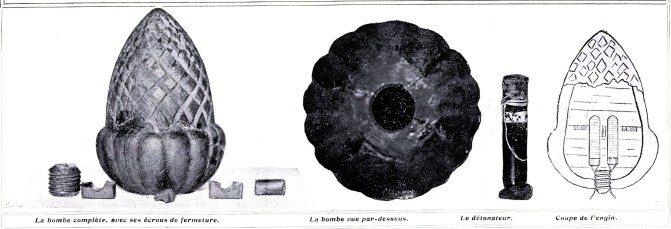 Atentado rue Rohan_París 1905_Bomba_Le_Grand_illustré___journal