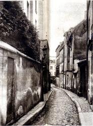 callejuela barrios bajos Paris_ppios sigloXX